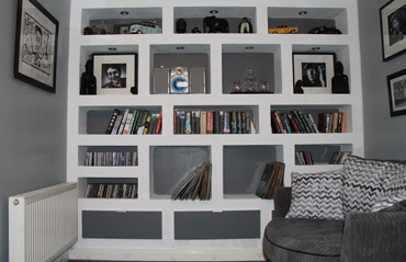 Featuring Wall, Storage and Display