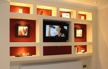 Entertainment Centre Feature Wall