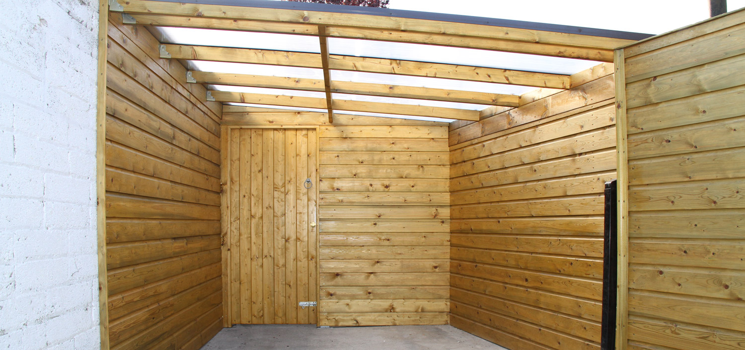 Bespoke Garden Shed Outdoor Area 1